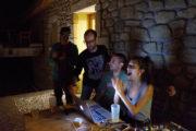 DJ set nocturne avec les réaisateur Cinzia Puggioni et Carlo Gaspa