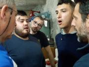 cuglieri - formation des jeunes chanteurs durant le dejuener du vendredi saint