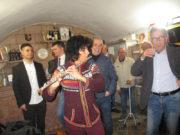 échanges de pratiques musicales avec le coro de bosa