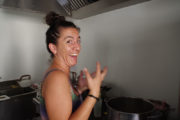 Fabiana en cuisine