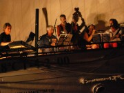concert sur le port d'alghero sept 2014 - photo piergiorgio annicchiarico