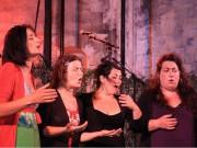 assurd feat. enza pagliara aux choralies de laberre - 3 juil 2010