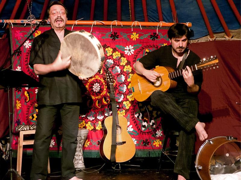 mirror drums au festival poussière du monde - genève 2011