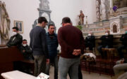 basilique de Cuglieri - Sos Cantores chantent